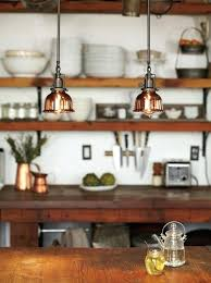 copper pendant light kitchen with pleasant island lights fascinating mixer over breathta