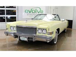 1972 to 1974 Cadillac Eldorado for Sale on ClassicCars.com - 22 ...