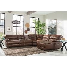 Living Room With Brown Leather Couch Leather Sofas Sectionals Costco