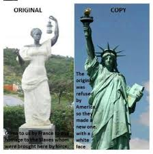 Statue Of Liberty Design History The Original Statue Of Liberty Presented To The U S Was A