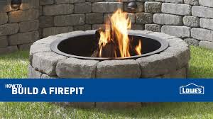 Lowes Stone Fire Pit | Fire Pit Grill Ideas
