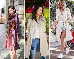 what to wear a trench coat with