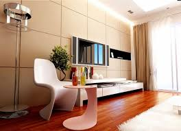Modern Living Room With Brown Leather Sofa Dark Brown Oak Wood Coffee Table Interior Design Ideas For Living