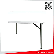 60 round folding table round white plastic folding table 8 60 inch square folding table