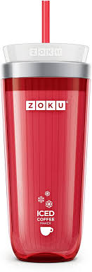 Coffee® iced™ coffee maker makes it simple to create refreshing iced coffee in minutes at home. Amazon Com Zoku Instant Iced Coffee Maker Reusable Beverage Chiller Cools Hot Beverages In Minutes Without Dilution Portable 11 Ounce Tumbler With Spill Resistant Lid And Straw Red Kitchen Dining