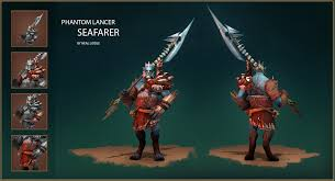 dota2 phantom lancer seafarer polycount