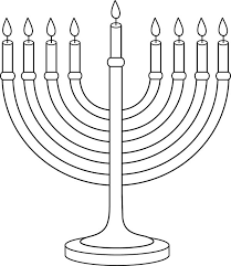 Small Picture Menorah and Beautiful Jewish Girl Colouring Page Colouring Pics