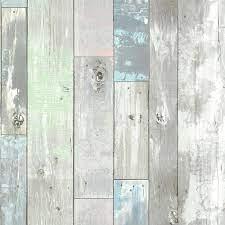 Brewster Ashwile Blue Wood Vinyl ...