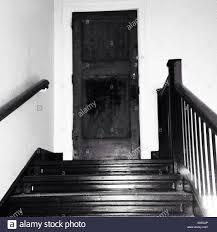 Creepy Door Stock Photos  Creepy Door Stock Images Alamy - Creepy basement stairs
