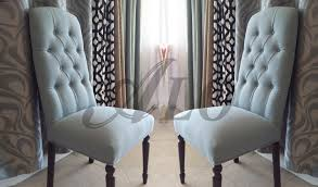 DIY-HOW TO REUPHOLSTER A DINING ROOM CHAIR WITH BUTTONS. - ALO Upholstery -  YouTube
