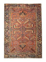antique persian rugs orange rug from heriz carpet