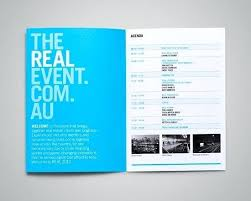 Passport Booklet Template Make Your Own Program Event Program Template Event Booklet Template