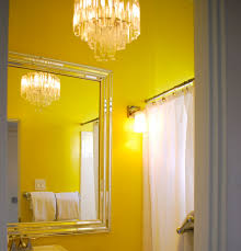 Yellow Wall Kitchen Brighten Up Your Home With A Yellow Bathroom Design