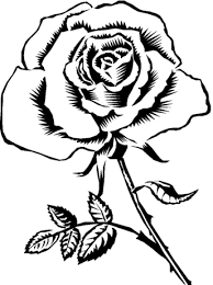 Small Picture Pretty Rose Coloring Pages Flower Coloring pages of