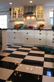 black and white floor tile kitchen. big kitchen tiles large format wall black white floor perfect amazing french cabinets and tile 2