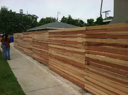 Modern Wooden Fences Modern Wood Fence Design Idea And Decorations
