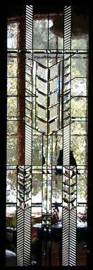 prairie style door panel