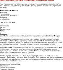 Best Cover Letter For Front Office Supervisor Lezincdc Com