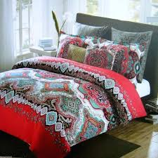 full image for black white red duvet covers black and red single duvet covers black double