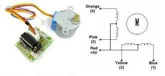 stepper motor wiring tutorial 28byj 48 stepper motor coils