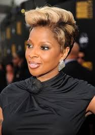 mary j blige short hairstyles pictures um short wavy hairstyleideas about hair big chop