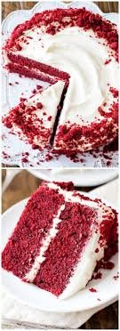 Image Texture Background Love This Red Velvet Layer Cake Recipe Learn Exactly How To Make It On Sallys Baking Addiction Red Velvet Cake With Cream Cheese Frosting Sallys Baking Addiction