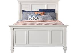 white panel bed.  White For White Panel Bed