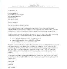 Nursing New Grad Cover Letter Resume Letter Collection