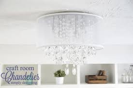 craft room lighting. craft room chandelier an elegant new light fixture lighting
