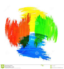 Mixing Colors Stock Image Image Of Stain Graphic Grunge 51445485