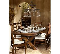 toscana extending rectangular dining table pottery barn