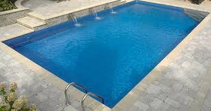 in ground pools rectangle. 16 X 32 Ft Rectangle 6 Inch Round Corners Inground Pool (Complete) - Supplies Canada In Ground Pools O