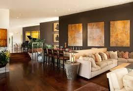 accent walls dark living room