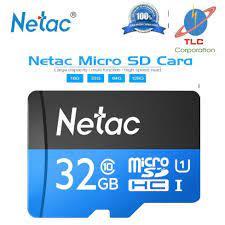 Thẻ nhớ chính hãng Netac 32G class 10 NK chính hãng 75,000đ