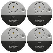 Doberman Security Ultra Slim Design Security Alarm Doberman Security Se 0106 4pk Ultra Slim Window Alarm 4