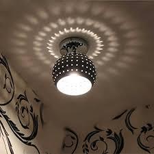 zeefo mini led ceiling light energy saving dome lamp chrome finish flush mounted lighting chandeliers for aisle hallway bathroom living room kitchen unique light fixtures l60