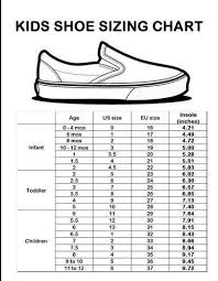 Children U S Shoe Size Chart Mexico Bedowntowndaytona Com
