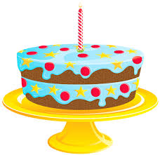 Blue Birthday Cake Png Clipart Clip Art Library