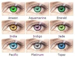 Bausch And Lomb Contact Lenses Color Chart