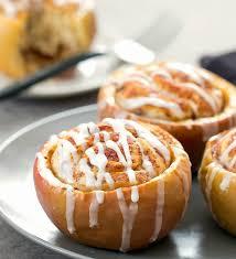 cinnamon roll stuffed apples kirbie s