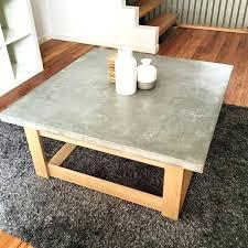 concrete coffee table top uk diy pete outdoor