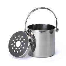 stainless steel ice bucket. Premium Stainless Steel Ice Bucket With Strainer \u0026 Tong R