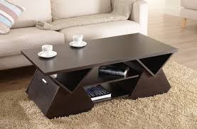 unique coffee tables furniture. Wonderful Tables This Is An Especially Unique Table With Triangle Cutout Construction That  Makes For Angular With Unique Coffee Tables Furniture L