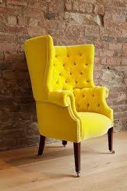fabulous yellow leather armchair 17 best images about chairs we love on upholstery