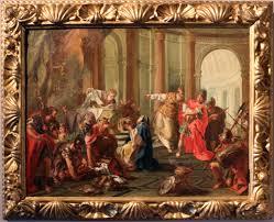 Crasso saccheggia il tempio di Gerusalemme
