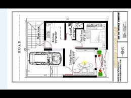 600 sq ft 1bhk house plan with car