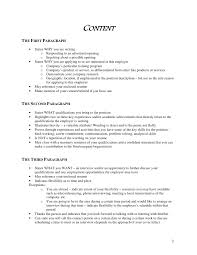 4 sentence cover letter cover letter sample awesome collection of sample 4 paragraph cover
