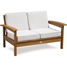 Decor Patio Furniture Ideas With Outdoor Loveseat And Patio Seat