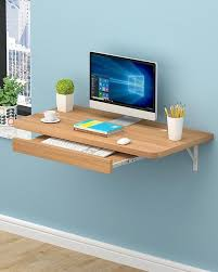 office desk furniture. Fine Office Portable Table Laptop Simple Office WallMounted Computer Desk Pine  Color Inside Furniture N