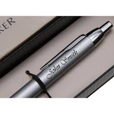 parker pen engraved with name